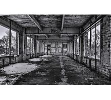 Abandonded and Empty Photographic Print