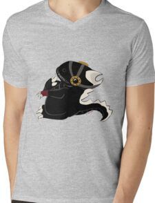 Steampunk Dino Mens V-Neck T-Shirt