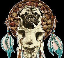 Pugs are my Spirit Animal by darklordpug