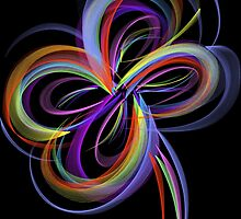 Multi Colour Flower by Cindy Hitch