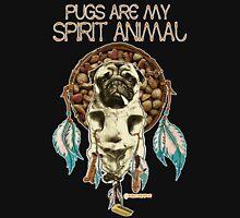 Pugs are my Spirit Animal Unisex T-Shirt