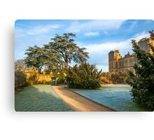 Historic Houses Canvas Print