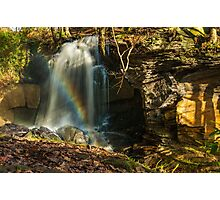Rainbow Waterfall Photographic Print