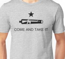 Come And Take It Transparent Unisex T-Shirt