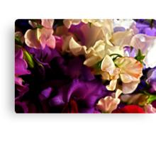 """Bouquet of Love "" Canvas Print"