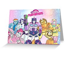 My Little Pwnformers Group Greeting Card