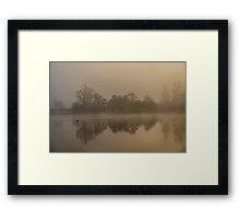 Mist on Loch Ness Framed Print