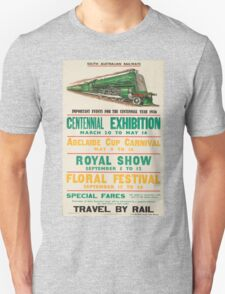 Vintage poster - South Australia Railways T-Shirt
