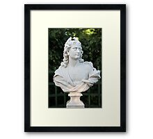 Marble bust Framed Print