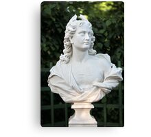 Marble bust Canvas Print