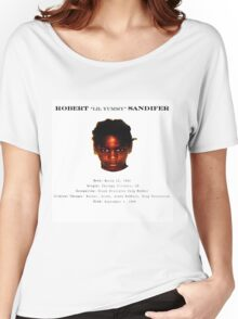 """Lil Yummy  """"OG CHIRAQ SAVAGE"""" T Shirt[In White] Women's Relaxed Fit T-Shirt"""