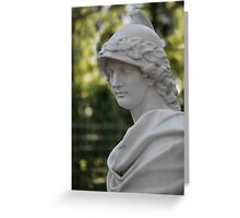 Alexander the Great Bust Greeting Card