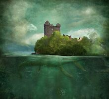 'Under The Castle'  by Matylda  Konecka Art