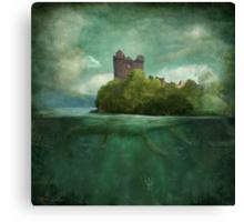 'Under The Castle'  Canvas Print