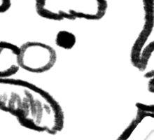 Teddy Roosevelt's Favorite Word Sticker
