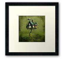 'Gingerbread Tree' Framed Print