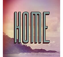 Home Photographic Print