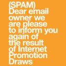 (Spam) Internet promotion draws! (White type) by poprock