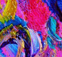 Abstract Viscosity Sticker
