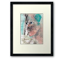 her reality or her dreams Framed Print