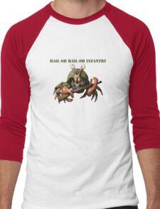 Crab infantryman ready for combat action Men's Baseball ¾ T-Shirt