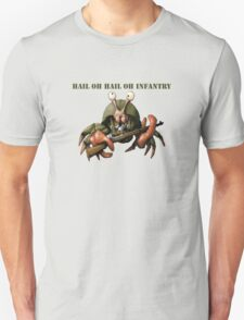 Crab infantryman ready for combat action T-Shirt