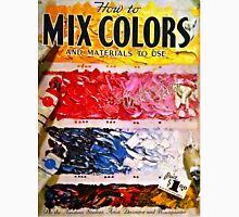 How To Mix Colors T-Shirt