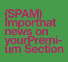 (Spam) Important news! (Magenta type) by poprock