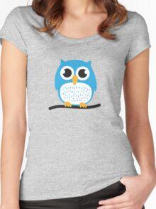 Sweet & cute owl Women's Fitted Scoop T-Shirt