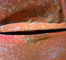 Rusty Crack... by Frederick James Norman