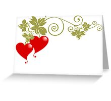 Love Fruit Greeting Card