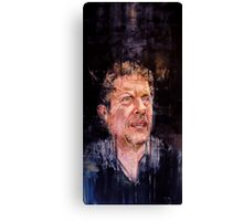 PORTRAIT FOR THE MAN THAT FEELS (JON LAURIE) - COMMISSION Canvas Print