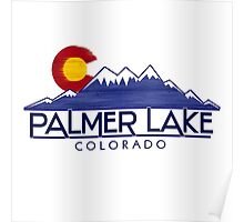 Palmer Lake Colorado wood mountains Poster