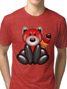 Red Panda Balloon Animal Tri-blend T-Shirt