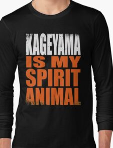 Kageyama is my Spirit Animal Long Sleeve T-Shirt