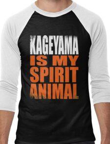 Kageyama is my Spirit Animal Men's Baseball ¾ T-Shirt