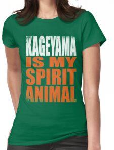 Kageyama is my Spirit Animal Womens Fitted T-Shirt
