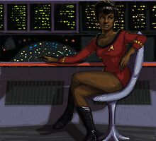 Uhura by character undefined