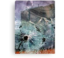 Bullet Hole Abstract Canvas Print