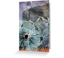 Bullet Hole Abstract Greeting Card