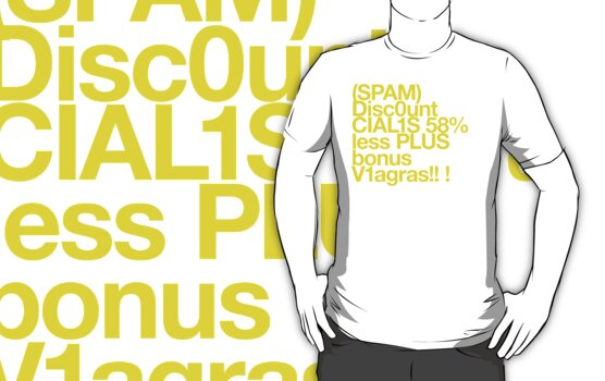 (Spam) Discount Cialis! (Yellow type) by poprock