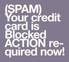 (Spam) Blocked! (White type) by poprock