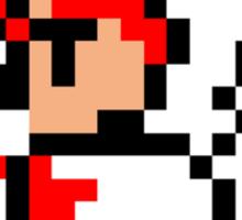pixel white mage Sticker