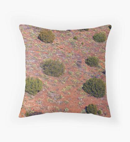 Lichen, Juniper, & Supai Sandstone #3 Throw Pillow