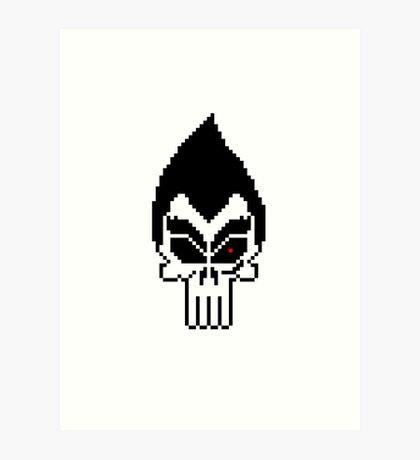 Kazuya: The Punisher Art Print