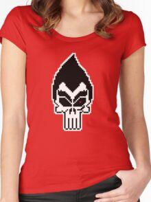 Kazuya: The Punisher Women's Fitted Scoop T-Shirt