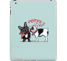 French Kiss {Type} iPad Case/Skin