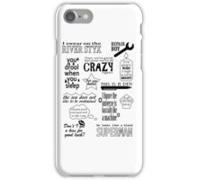 Heroes of Olympus Quotes iPhone Case/Skin