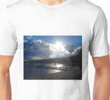 Sunset Over the Dock Unisex T-Shirt