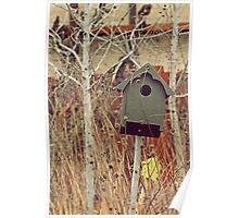 Brick Works Birdhouse Poster